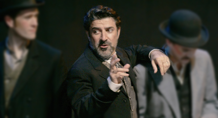 Yiannoudes as Horace Tabor
